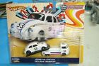 HOT WHEELS TEAM TRANSPORT HERBIE THE LOVE BUG VW CLASSIC BUG  VW T1 PICKUP RARE