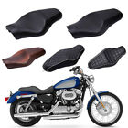 Two Up Driver Front Rear Passenger Seat For Harley Sportster XL 883 1200 48 72 A