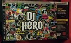 PS3 DJ Hero Game Bundle with Turntable  Dongle Boxed Complete