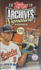 2019 Topps Archives Signature Series Retired Player Edition Hobby Box