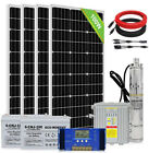 3 Solar Bore Water Pump Deep Well Submersible Complete Kits  MPPT+Solar Panel