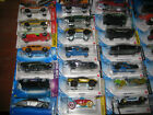 HOT WHEELS MINT IN BOX CASE LOT 72 CARS MIXED ASSORTMENT FROM OLD TO NEW N CASE