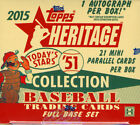 2015 Topps Heritage '51 Collection Baseball Hobby Box — 1 Autograph — Sealed