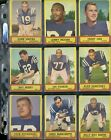 1963 Topps Football Cards 21