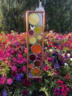 Real Stained Glass And Copper Yard Art Free Shipping 151