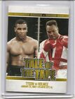 2010 Ringside Round One Mike Tyson Larry Holmes Gold Insert Card 9 #64