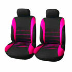 Universal Rear Head Rests Full Set Car Seat Covers Auto Suv Truck Seat Cover