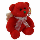 TY Beanie Baby - HARK the Angel Bear (Red Version) (6.5 inch) -MWMTs Stuffed Toy