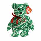 TY Beanie Baby - 2007 HOLIDAY TEDDY (Green Version) (8.5 inch) MWMTs Stuffed Toy