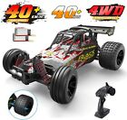 DEERC 9305E RC Cars High Speed 118 25+ MPH 4WD Off Road Monster Truck 2 Battery