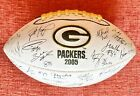 Green Bay Packers - 2005 Team Ball Autograph with Brett Favre & Aaron Rodgers!
