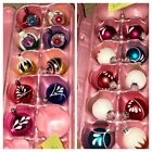 Vtg Blown Glass Christmas Ornaments 10 Rauch + 9 Unbranded  Mixed Lot Of 19