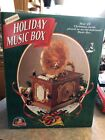 Vintage Mr Christmas Holiday Music Box Songs Mouse Old Fashioned Phonograph
