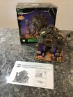 Lemax Spooky Town Halloween Village CREEPY BARN #55222 Exterior Lighted Retired!