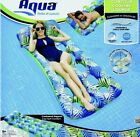 Aqua Inflatable Contour Cooling Water Lounge Swimming Pool Float Drifter Floatin