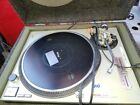 Technics 1200 SL 1200MK2 DJ Turntable Record Player Tested Working with Case