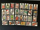 1976 1977 Topps Wacky Packages 16th Series 16 Complete Sticker Set 30 30 EX+