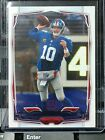 2014 TOPPS ELI MANNING #179 ERROR NO NAME OR PRINT ON FRONT GIANTS