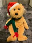 TY Beanie Baby 10 Years | 2003 Holiday Teddy | WITH MINT TAGS