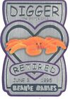 TY Beanie Babies BBOC Card - Series 3 Retired (SILVER) - DIGGER the Orange Crab