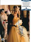TAYLOR MOMSEN signed (GOSSIP GIRL) Jenny Humphrey 8X10 photo BECKETT BAS Y04103
