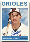2013 Manny Machado Topps Heritage AUTO REAL ONE Autograph Rc Orioles Padres NRMT