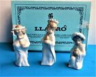 Lladro Three Kings Set of Miniature Nativity Ornaments 5729