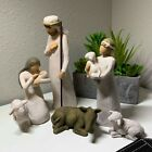 Willow Tree hand painted sculpted figures Nativity 6 piece set 26005