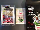 Topps Project 2020 Auto #4 Mike Trout Ermsy RED Autograph # 99 w Box + Sticker
