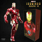 ZD TOYS Birth of Iron Man MK 3 Mark III 7 Action Figure Marvel Comic Toys Gifts