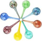 Plant Watering Globes 235 inch Diameter Watering Cans Glass drip Ball8 Pack