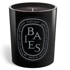 Diptyque Baies 300g Noire Edition Black Wax Tinted Glass Roses Rosen Rosa