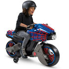 Spiderman Ride On Power Wheels For Boys Toy Motorcycle Kids 6 Volt Battery