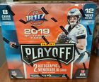 2019 Panini Playoff Football Hobby Box 2 Auto 2 Mem