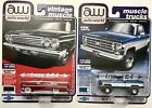 Auto World 1962 Chevy Impala SS 409 Ultra Red  78 Chevy K10 Fleetside Lot Of 2