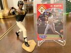 1995 Kenner Starting Lineup Al Martin Figurine and Baseball Card Pirates
