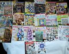 Lot of 20 Various Quilting Magazines 1999 2019 American Patchwork Quilting etc