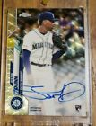 JUSTIN DUNN 2020 TOPPS SAPPHIRE SUPERFRACTOR ROOKIE AUTO 1 1 RC AUTOGRAPH