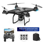 Holy Stone HS120D 2K HD Camera FPV Drone GPS FPV RC Selfie Quadcopter+3 Battery