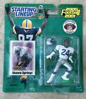 NEW 2000 NFL Starting Lineup Action Figure Shawn Springs Seattle Seahawks