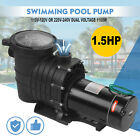 15 HP Swimming Pool Spa Water Pump 110 Volt Outdoor Above Ground Strainer Motor