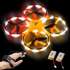 SIX FOXES Hand Operated Drone Gravity Sensor RC Drone for Kids RTF Mini Drone