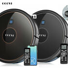 GOOVI Robotic Vacuum Cleaner Robot Floor Carpet Pet Hair Dirt Automatic Sweeper