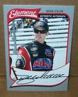 BRIAN ICKLER 2011 WHEELS ELEMENT RACING PRESS PASS AUTOGRAPHED CARD 03 50 MADE