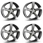 4 Borbet Wheels S 80x18 ET35 5x112 GRAPPM for Audi A3 A4 A5 A6 A7 A8 Q3 RS3 S3