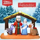 65FT Inflatable Nativity LED Light Up Christmas Decor Outdoor Yard Decoration