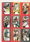 15 CARD LOT FOOTBALL 2009 TOPPS UNIQUE NUMBERED AND INSERT