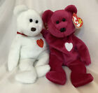 Ty Beanie Babies Valentina And Valentino Together With Errors