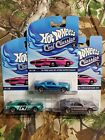Hot Wheels Cool Classics Spectrafrost Mustang 3pc Lot