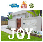 Luck Sea Christmas Joy Nativity Yard Sign Lawn Outdoor Decorations Assembly Nee